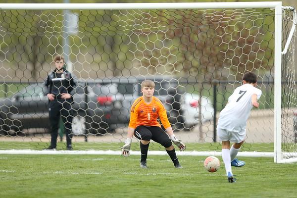 4/23/21 Kyler Ames vs Roosevelt Varsity Boy's Soccer