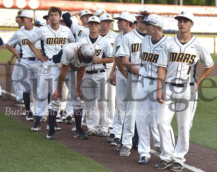 Mars Vs North Hills WPIAL 5A Boys Baseball championship at Wild Things Park in Washington PA