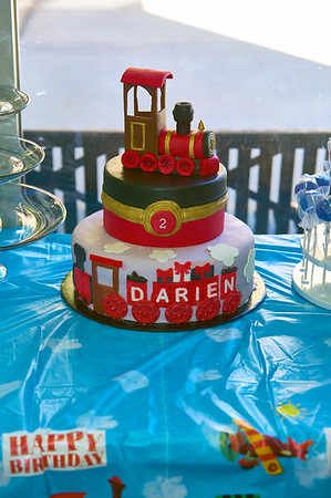Darien's 2nd Birthday Party