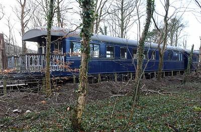 The Orient Express at Bassenthwaite Lake station, 2019