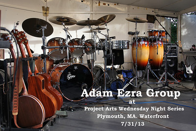 Adam Ezra Group at Project Arts Concert in Plymouth MA. 7/31/13