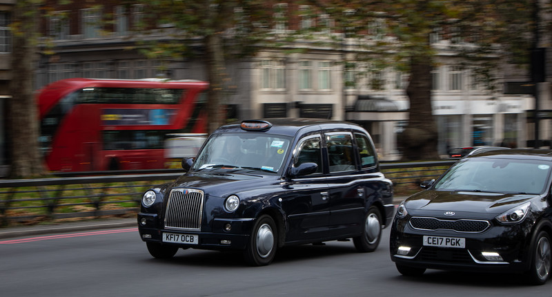 London taxis.