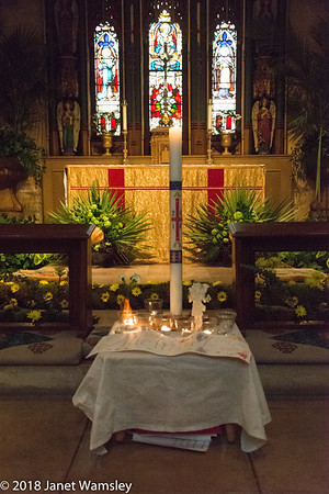 2018 Liturgy of the Light and Egg Hunt