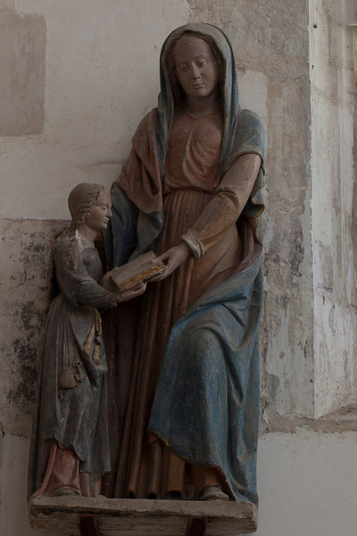 Chaource, Eglise Saint-Jean-Baptiste - The Education of The Virgin