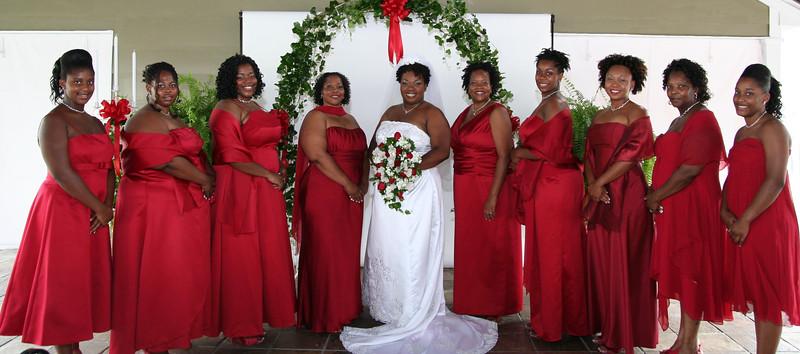 Maria and Bridesmaids