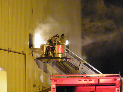 MAHANOY TOWNSHIP COMMERCIAL BUILDING FIRE 8-19-2010
