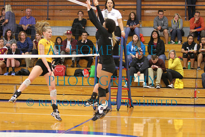 Varsity Volleyball vs Central Catholic - Loss