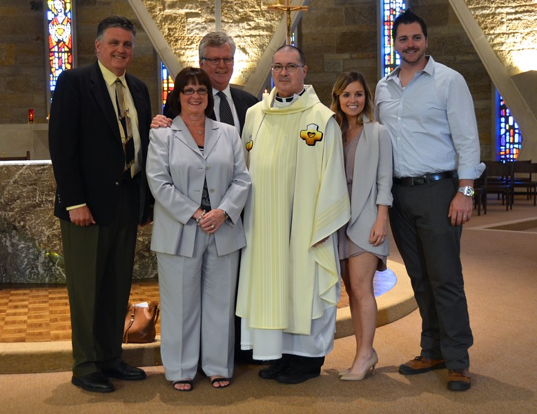 Fr. Wayne with family