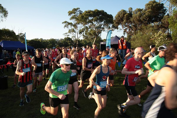 Sri Chinmoy: Yarra Trail, Burnley 2020-02  -- Half Marathon, 14km & 7km Run  | Loys Paddock Reserve, Main Yarra Trail, BURNLEY