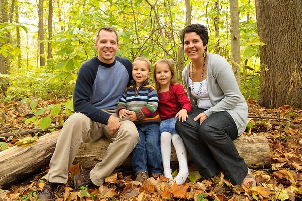 Family Photos at Elkhart Dam
