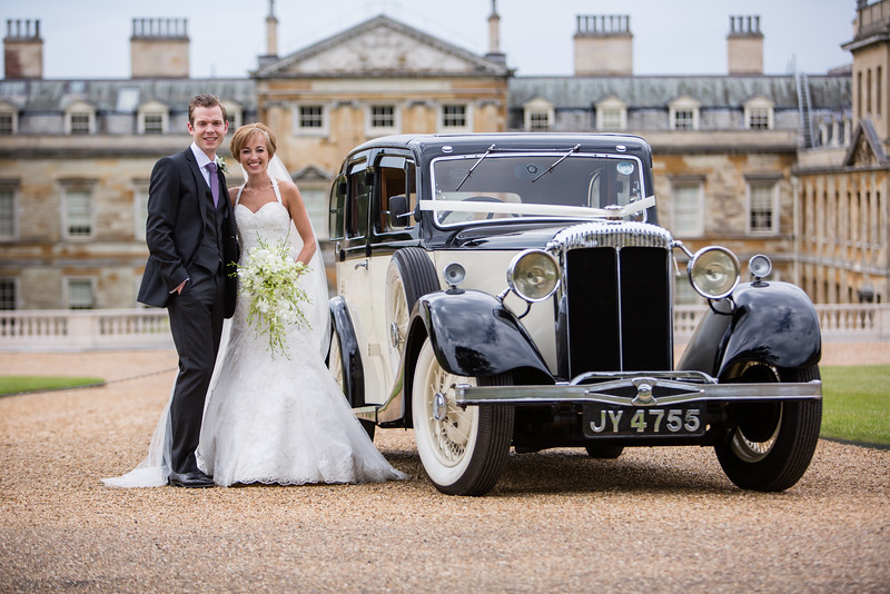 Woburn Abbey wedding with fabulous Daimler