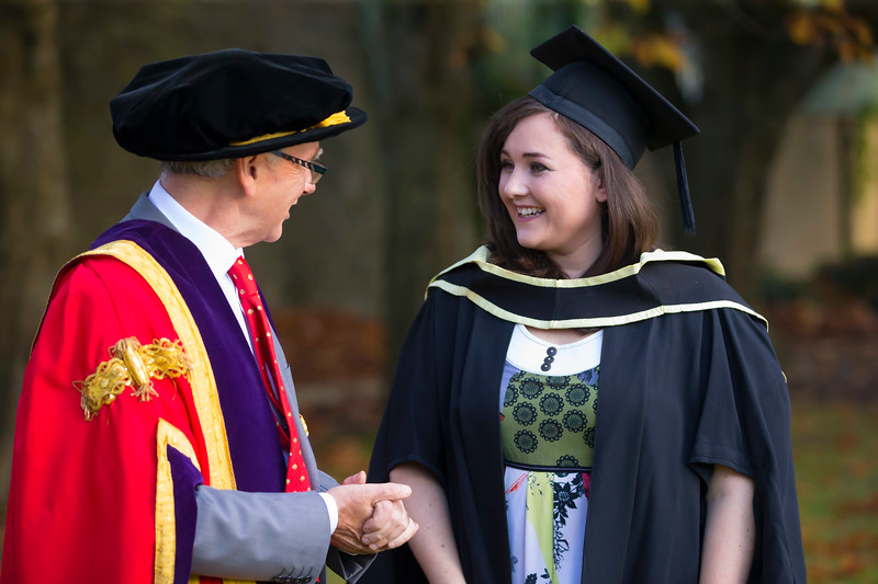 01/11/2018. Waterford Institute of Technology (WIT) Conferring Ceremonies 2018. Pictured is Chloe Keating from Portlaw. Picture: Patrick Browne