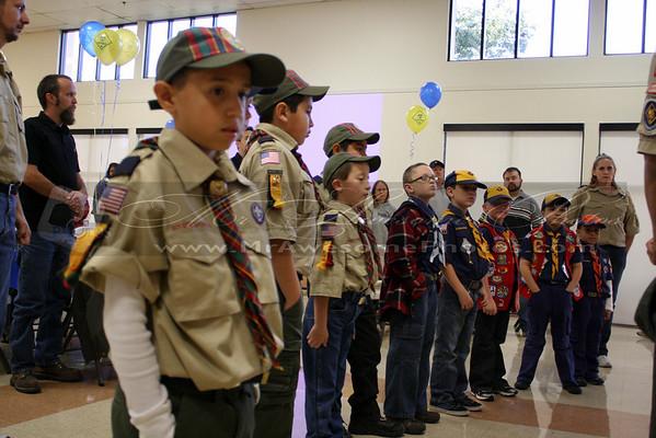Cub Scouts Pack 588 Banquet
