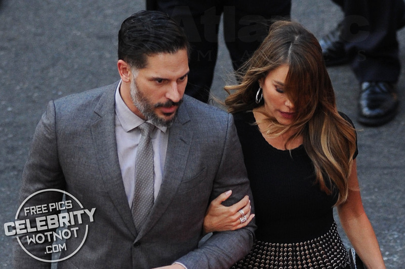 Sofia Vergara Has Trouble With Her Hair With Joe Manganiello In Hollywood, LA