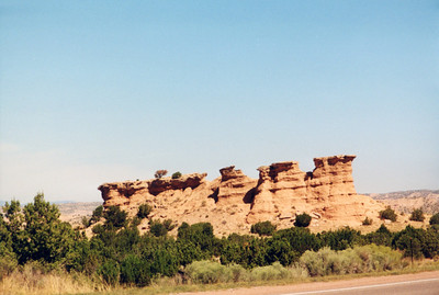 New Mexico August 2001