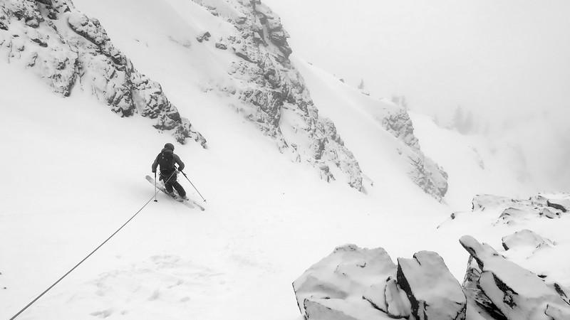 Grand Teton Park skiing