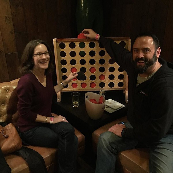 Biggest Connect Four ever!