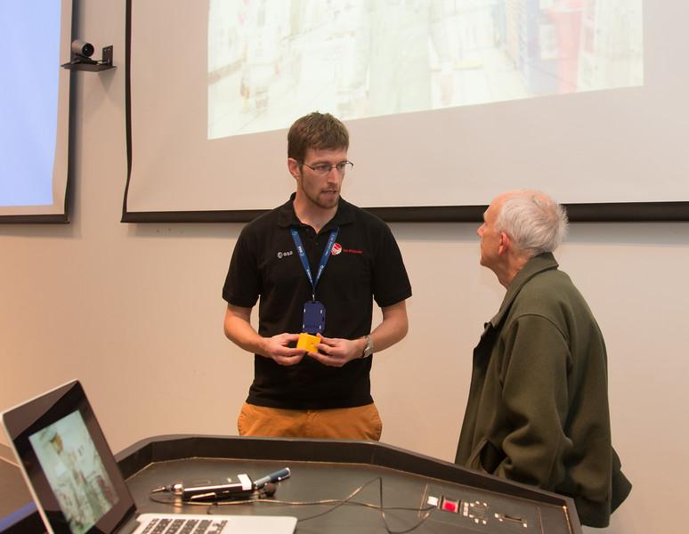 LISA Pathfinder Launch Party & Seminar, Dec 4, 2015, NASA/GSFC.