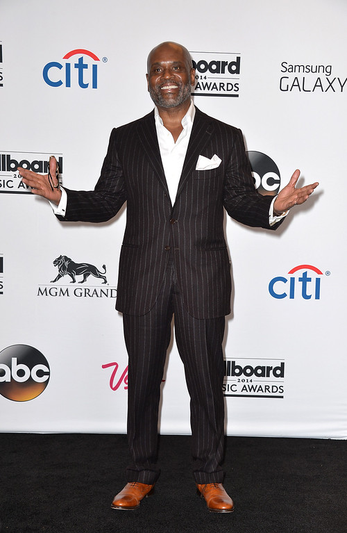 . Producer L.A. Reid poses in the press room during the 2014 Billboard Music Awards at the MGM Grand Garden Arena on May 18, 2014 in Las Vegas, Nevada.  (Photo by Frazer Harrison/Getty Images)