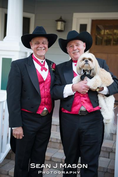 Bill & Keith Wedding