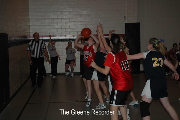 MS Girls Basketball at N-P