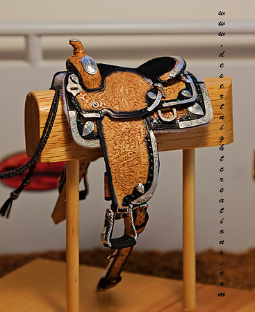 Miniature Western Saddles