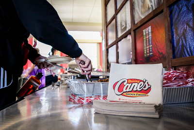 Lunch - Raising Canes