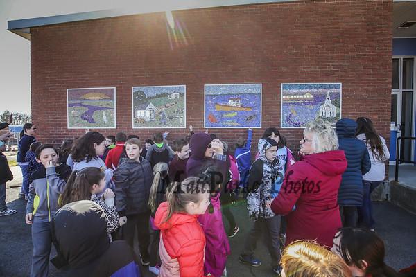 2018-4-20 Seabrook Elementary School Mosaic Unveiling