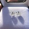 2.49ctw Antique Pear Diamond Pair GIA E VS2/GIA D VS2 20