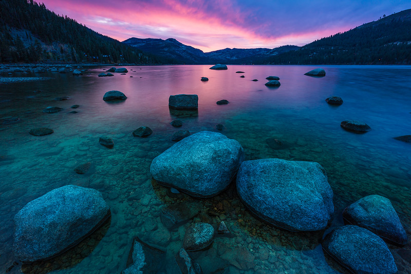 Donner Lake reflections