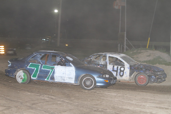 Fun Night, South Buxton Raceway, Merlin, ON, September 28, 2013