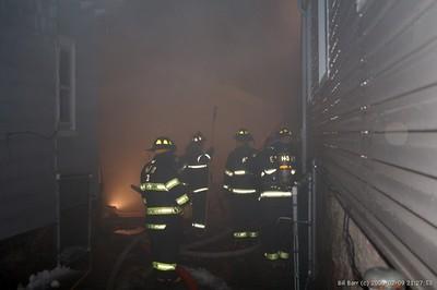 HAZLETON CITY STRUCTURE FIRE 2-9-2008