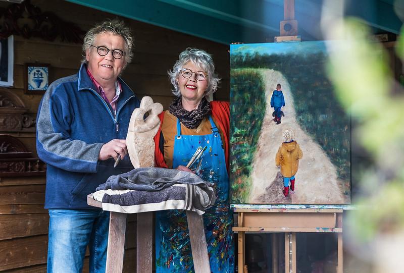 Jaap en Jenny Nes - Diever  foto: Wim Goedhart