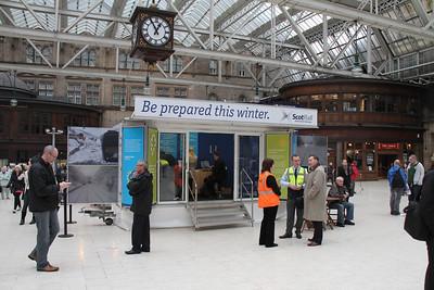 ScotRail Winter Disruption Roadshows 2011