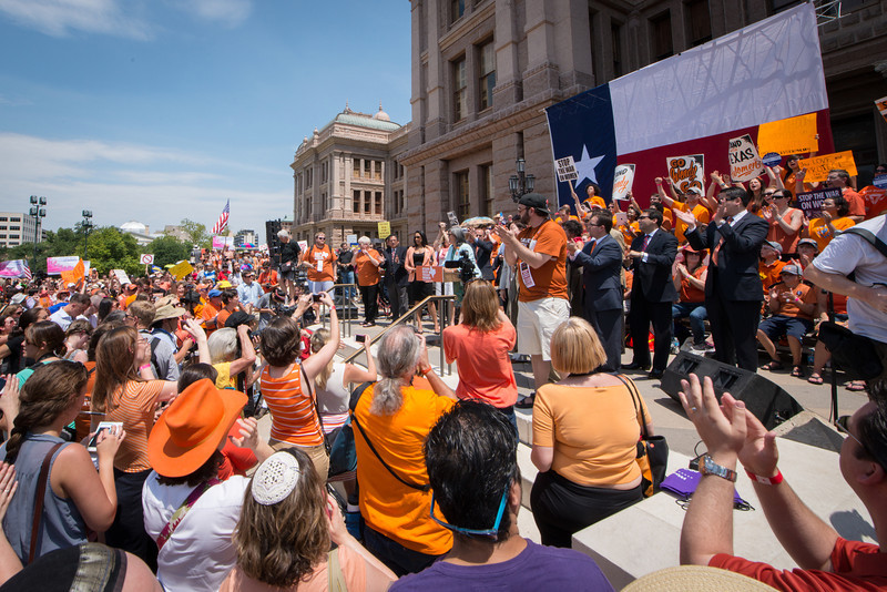 Stand with Texas Women Rally