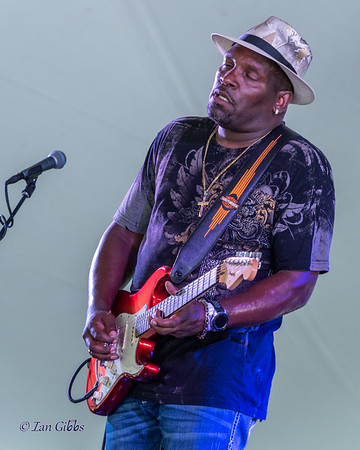 Craig Clark at Bayfront Blues Festival 190811
