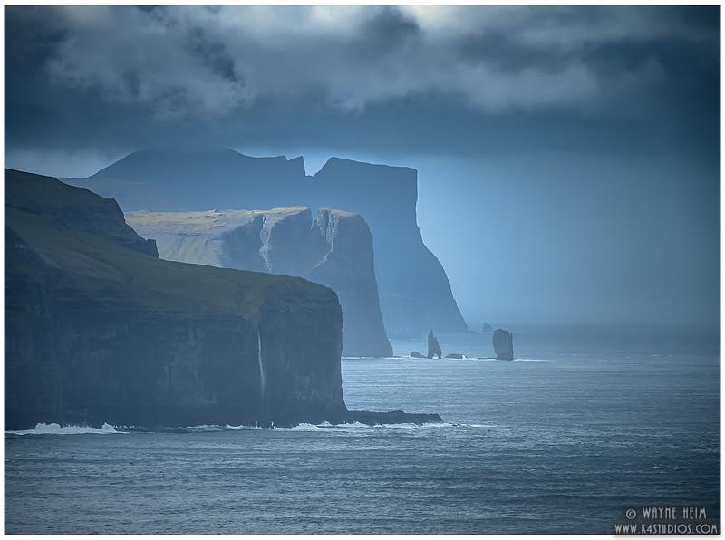 Faroe Coast  Photography by Wayne Heim