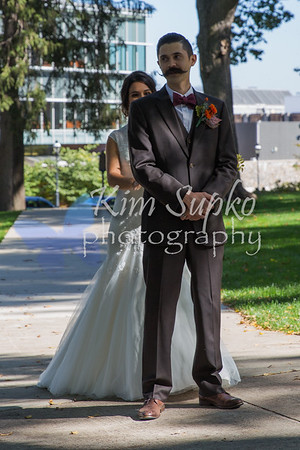 Zach & Diana - sneak peak wedding pics