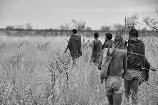 San People of the Kalahari