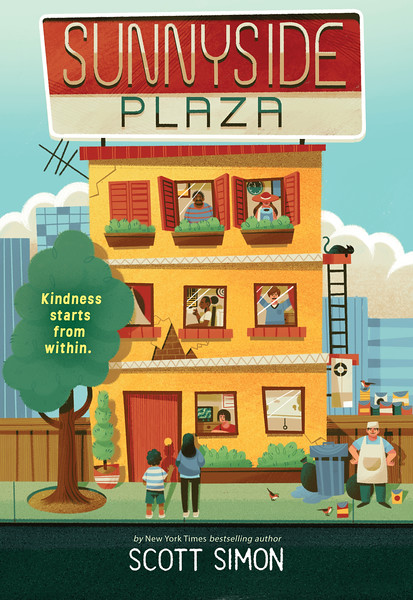 Cover of Sunnyside Plaza by Scott Simon.