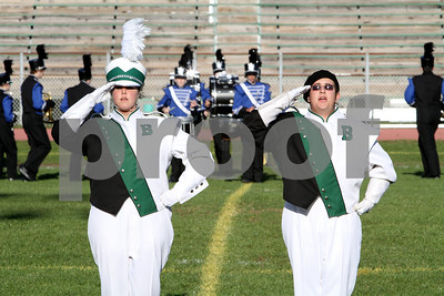 Brick Township High School Marching Band  10-16-10