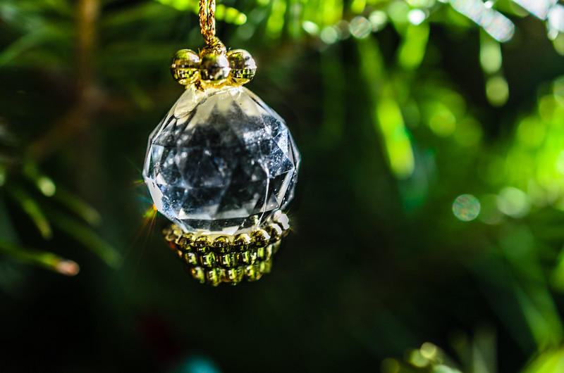 Crystal ornament II