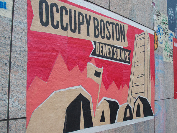 The Signs of Occupy Boston