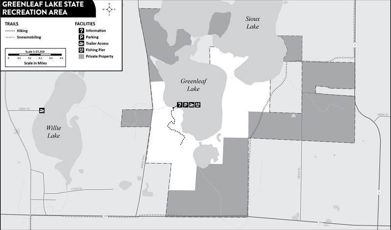 Greenleaf Lake State Recreation Area