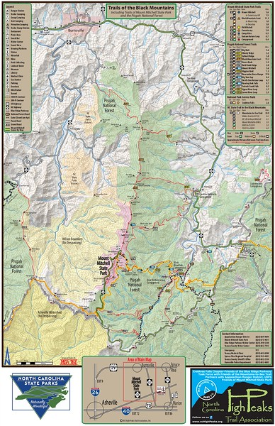 Mount Mitchell State Park (Black Mountain Area Trails)