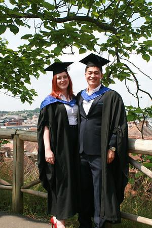 Caz's Graduation