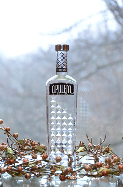 Opulent Vodka - Cheri Loughlin Wine & Spirits Stock Photography