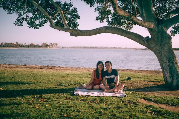 San Diego with Friends