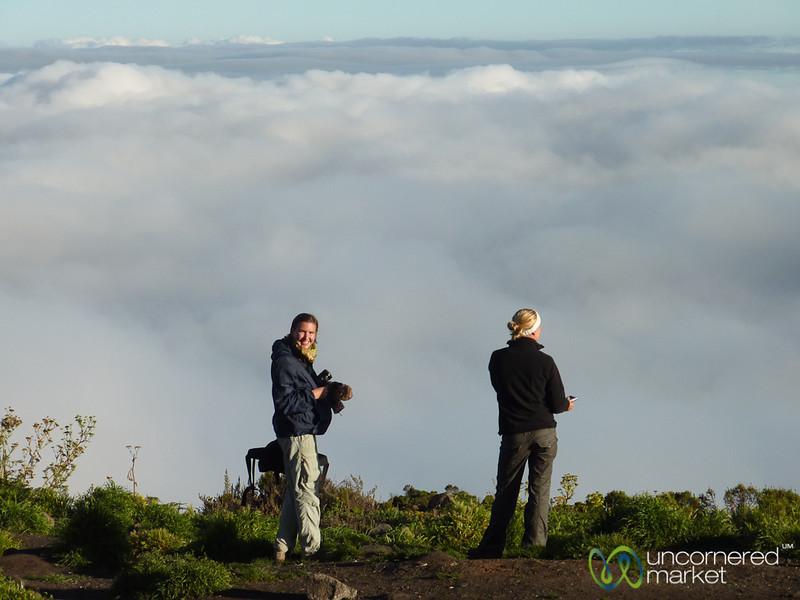 Above the Clouds at Horombo Huts - Mt. Kilimanjaro, Tanzania
