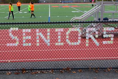 Senior Night - Soccer Nov 1 2016